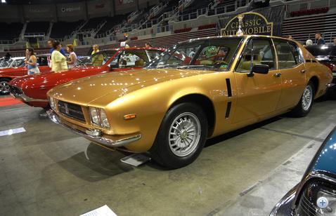Ilyen autót soha nem látott még senki. Iso Fidia