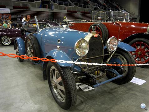 Bugatti Grand Sport 1927-ből - és magyar!