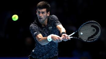 Djokovic legyőzte Modricot és Hamiltont