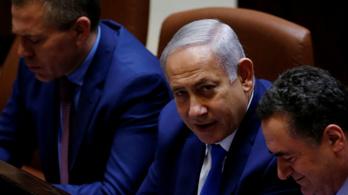 Netanjáhu mestertervét követve feloszlatta magát az izraeli parlament