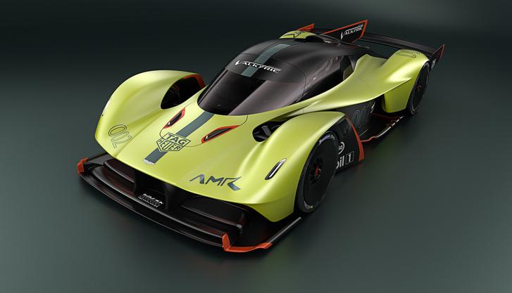 A Red Bull későbbi terveinek alapját jelentő Aston Martin Valkyrie