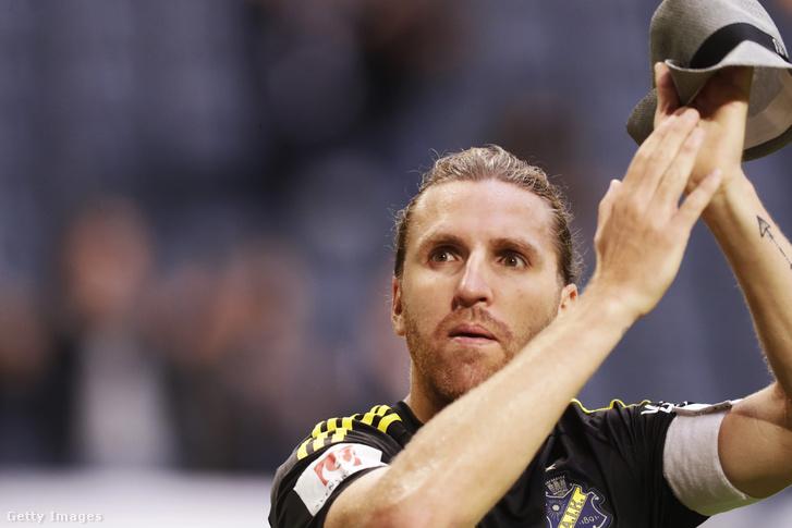 Nils-Eric Johansson egy 2016-os svéd bajnokin