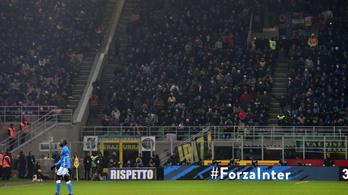 Meghalt egy futballszurkoló az Inter-Napoli előtti összecsapásban