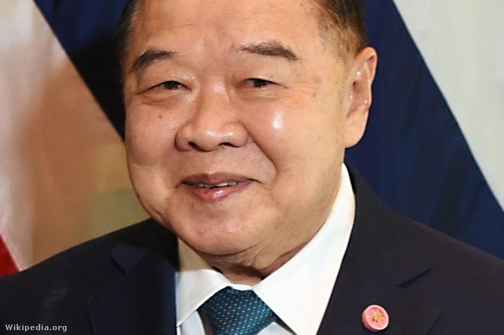 Pravit Vongszuvan thaiföldi miniszterelnök-helyettes