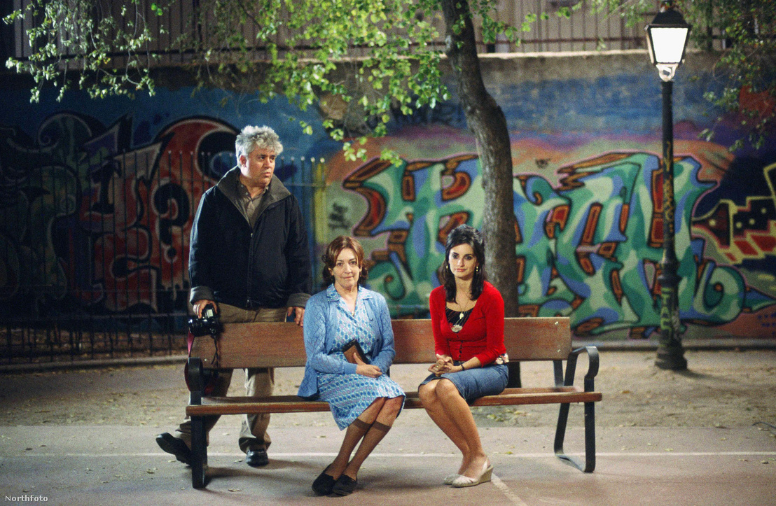 Pedro Almadovar, Carmen Maura és Penelope Cruz (Volver, 2006)