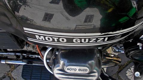 Moto Guzzi - perverz, de vonzó