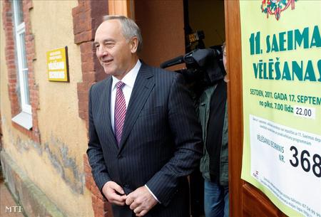 Andris Berzins lett elnök