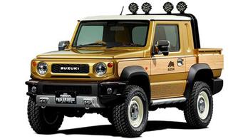 Pickupot csináltak az új Jimny-ből