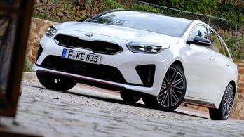 Menetpróba: Kia Proceed GT – 2018.