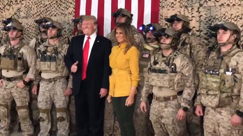 Trump a nagy önfényezésben elcseszte egy titkos elit kommandóscsapat álcáját