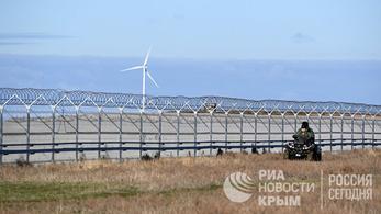 Kerítést húzott a Krímre Oroszország