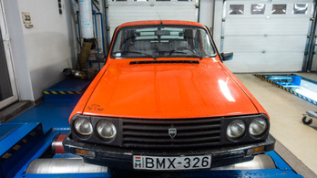 Totalcar Erőmérő: Dacia 1310 TLX – 1989.