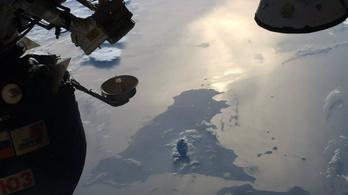 Sajnos ez nem az Etna kitörése az űrből