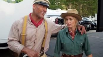 Dupla annyit fizettek Dwayne Johnsonnak egy filmért, mint Emily Bluntnak
