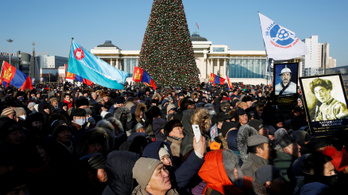 Több ezren tüntettek a korrupció ellen mínusz 25 Celsius fokban