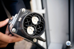 Egy gyorstöltőhöz két fütyit csatlakoztathatunk annak ellenére, hogy egyszerre nem képes két autót tölteni