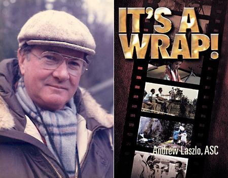 Andrew Laszlo és 2004-es könyve, az It's a wrap!