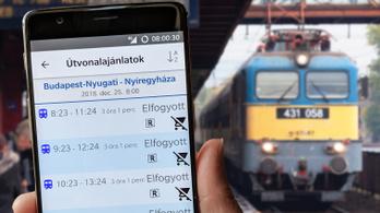 100 Intercity-vonatra nem fértek fel az utasok az ünnepek alatt