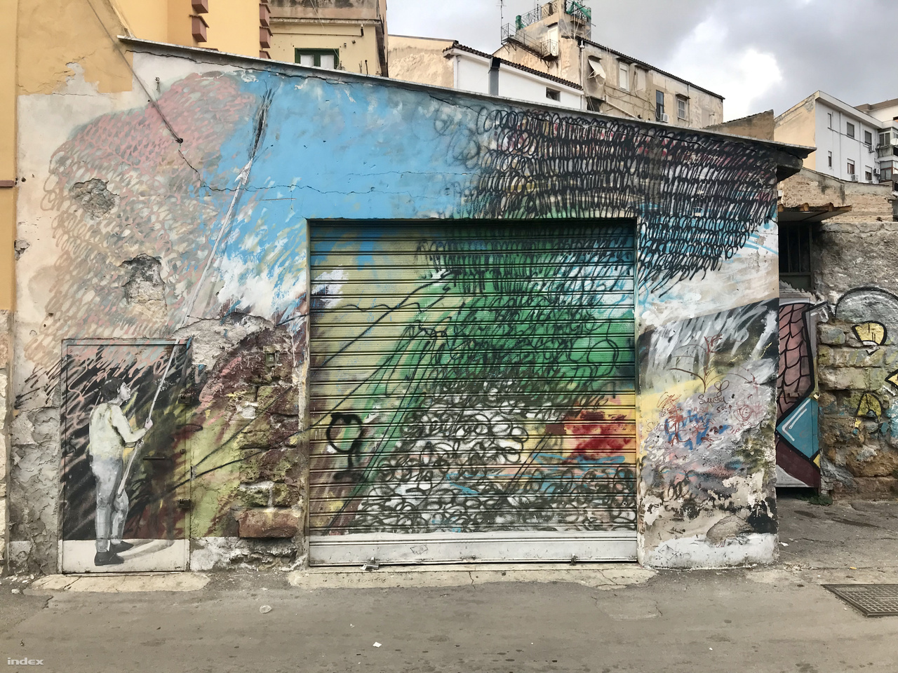 Palermo ősi negyede a Borgo Vecchio, magyarul az Ófalu. A negyeden belül pedig van egy olyan terület, ahol fantasztikusak a falfestések.