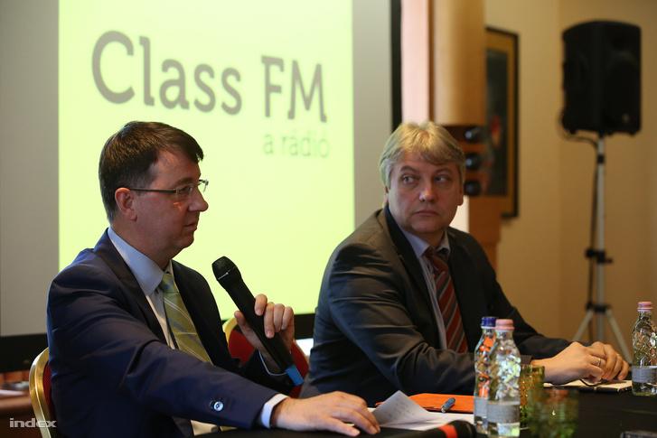 Michael McNutt és Túri Árpád