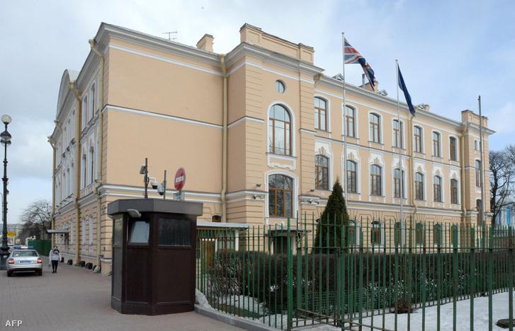 A brit konzulátus épülete Szentpéterváron