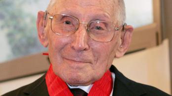 108 évesen meghalt a férfi, aki 350 zsidó gyereket mentett meg a háborúban