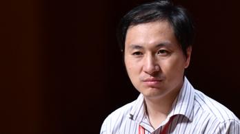 Őrizetbe vették a világ első génszerkesztett babáit világra segítő kínai orvost