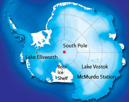 Antarctic-Map