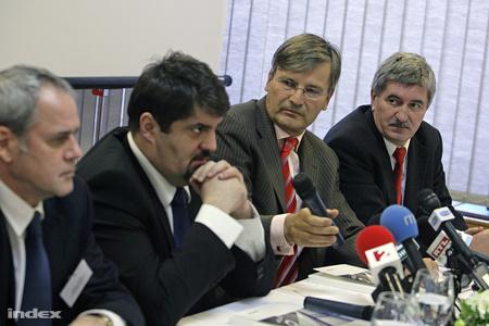 Hagyó, Demszky és Kocsis, még egy asztalnál