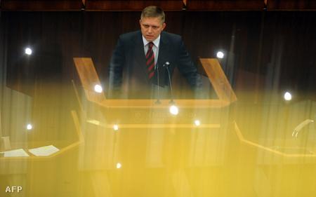 Fico is felszólalt a keddi parlamenti ülésen