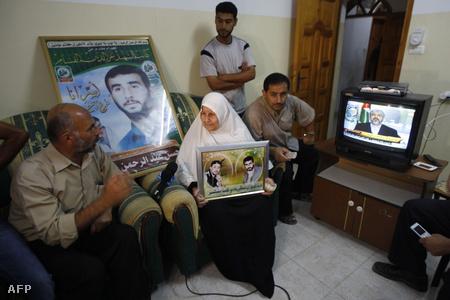 Hasszán Szalame Hamász-vezető szülei is boldogok, hogy Salitért cserébe visszakapják az izraeli börtönben ülő fiukat
