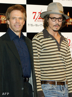 Jerry Bruckheimer és Johnny Depp