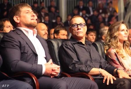 Kadirov és Van Damme