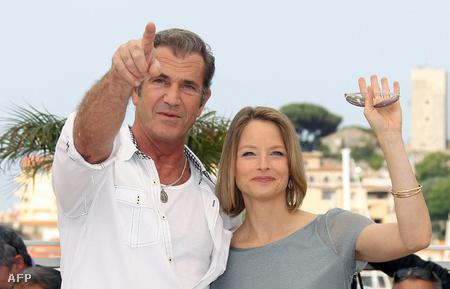 Mel Gibson Cannes-ban