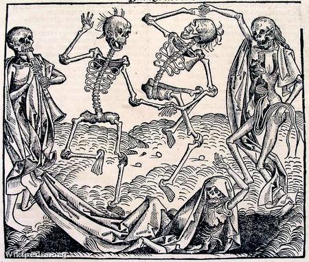 A Halál tánca - Michael Wolgemut (1493)