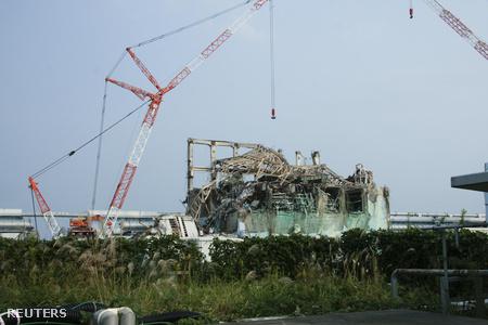 Októberi állapotok a fukusimai erőmű 3-as reaktoránál