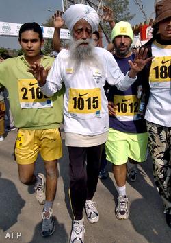 Fauja Singh 2005-ben