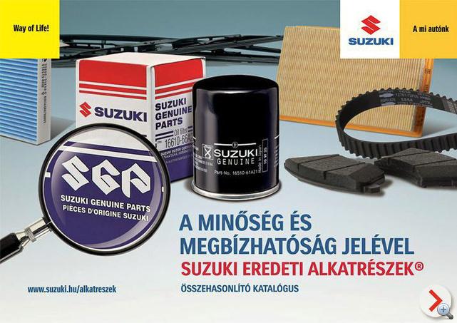 Az aktuális Suzuki kampány képekben