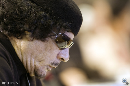 Kadhafi a 2009-es FAO (Food and Agriculture Organization) élelmiszerbiztonsági konferencián