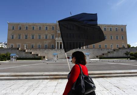 A görög parlament épülete