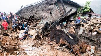 Sukabumi: gyermekbénulási járvány után most esők, földcsuszamlások és árvizek