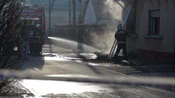 Holttestet találtak a tűzoltók a Brigád utcában
