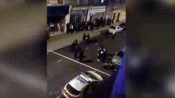 Londoni szóváltás: egyetlen szurkálás miatt 39 embert tartóztattak le