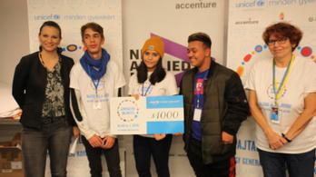 A UNICEF új programja hátrányos helyzetű hazai fiatalokat támogat