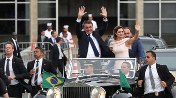 Letette a hivatali esküt Bolsonaro, Trump már gratulált is