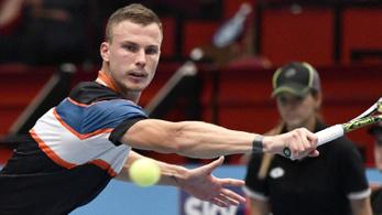 Fucsovics-Djokovics meccs lesz Dohában