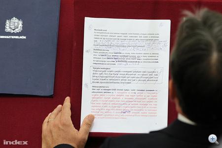 Az index fotója a beszédről