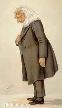 A Vanity Fair karikatúrája Lisztről 1886-ból