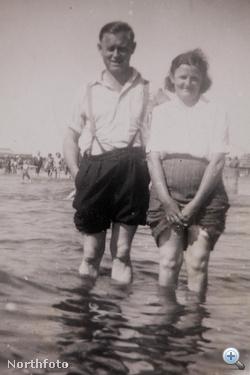 Korábbi fotók Connie és George Watsonról - egy 75 éve tartó házasság története képekben