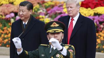 Izzik a vonal Trump és a kínai elnök között